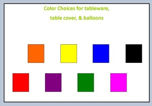 color choices 1