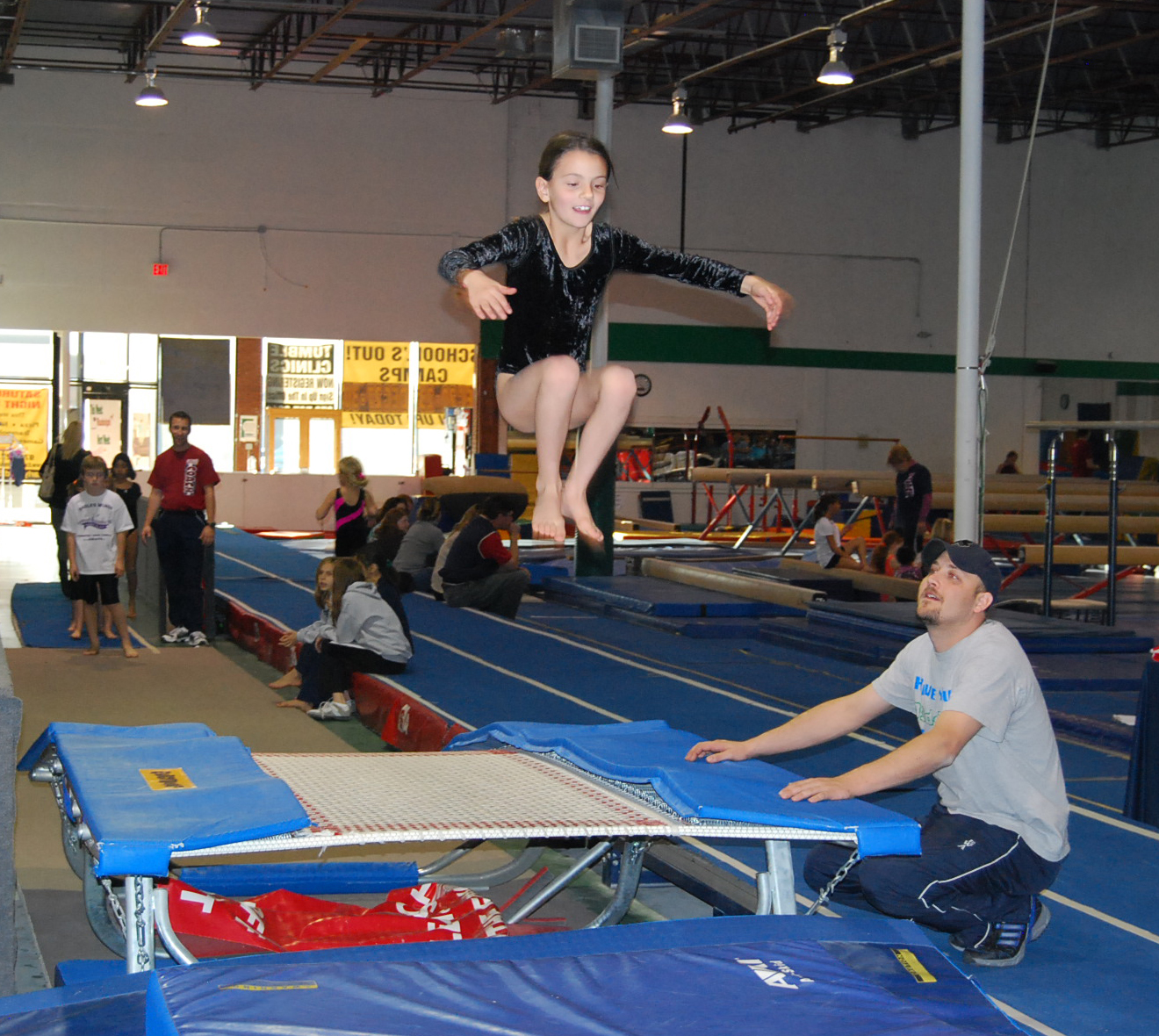 trampolinedouble mini � eagles wings athletics