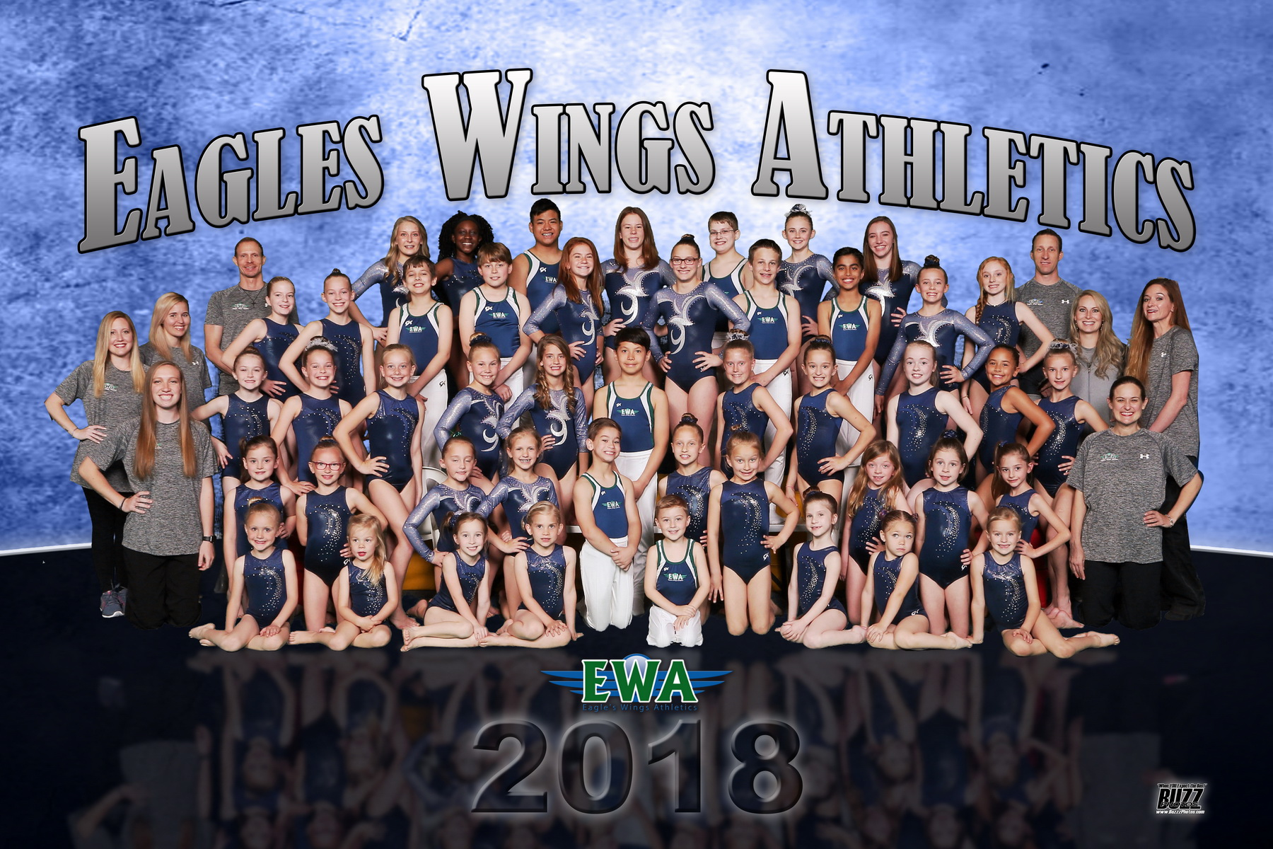 Eagles Wings 42x63 2018